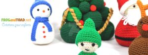 Sapin de Noel - Christmas Scene - FROGandTOAD by FROG-and-TOAD