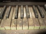 Abandoned House Piano 10 by Falln-Stock