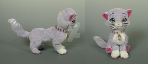 Beanie Cat - Sofia the First by WhittyKitty
