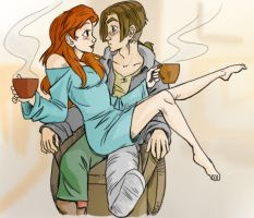 Morning Coffee by iesnoth