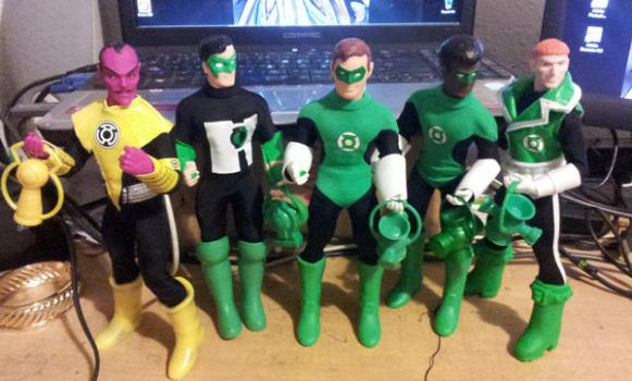 Green Lanterns by BigRob1031