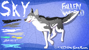 Character Sheet - Sky (Fallen World) by EpicSaveRoom