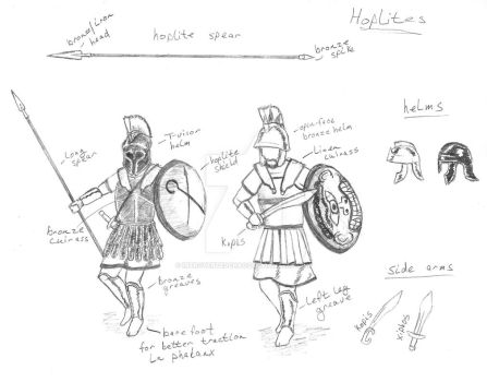 Hoplites by introvertedchaos