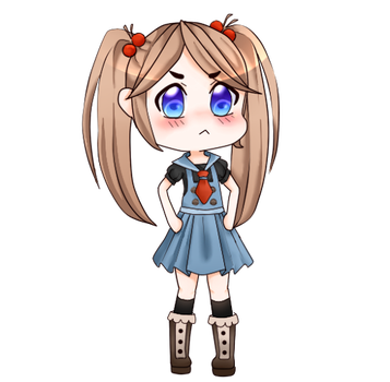 I-its not like she was suposed to be tsundere!!... by ChibiBlackCatX3