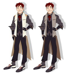 T: Nick Outfit Design by Pyro-Zombie