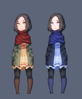 Fall and Winter by Saige199