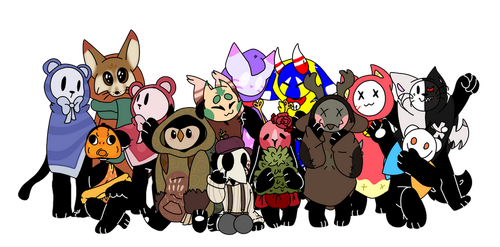 Mocchin Group Pic! by Sozbii
