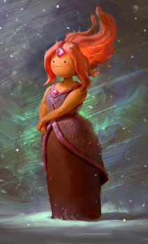Flame Princess by MikeAzevedo