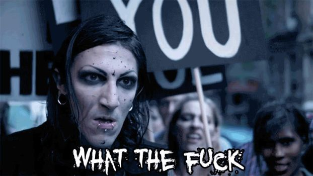 WHAT THE FUCK?-Chris Motionless by The-Bomb-Dot-Com