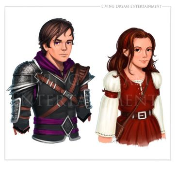 Character Designs -- Dean and Val by RileyStark