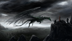 Forest Dragon by PeterPrime