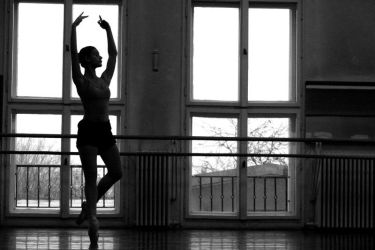 Ballet silhouete by fripturici