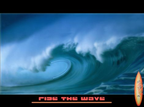 ride the wave by Maullasses