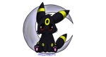 Chibi Umbreon by BrannaPants