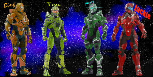 Spartans (Anti) (Time) (Bing) (Jackie) by Timesepticeye133