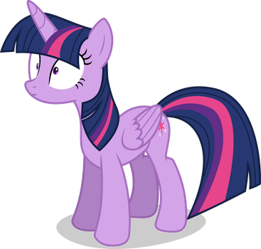 Twilight Sparkle - Looking Startled by TomFraggle