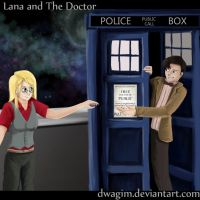 REQUEST:OC Lana and the Doctor by dwagim