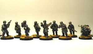 Steel Legion Armoured Fist Squad by JDAtrocityExhibition
