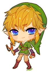 Skyward Sword -- Chibi Link by onisuu