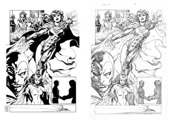 INK : Avengers Disassembled by Mich974