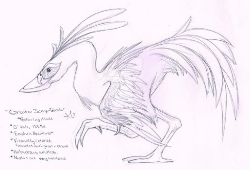 Greater Scoopbeak by animallover0629