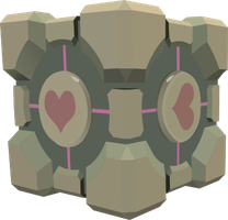 Weighted Companion Cube by kaolincash