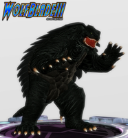 The Guardian Kaiju. by WOLFBLADE111