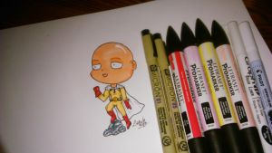 //// Saitama from One Punch Man //// by Ovxy
