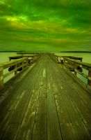 Fishing dock to nowhere. by jayzee250