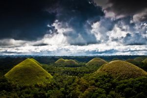 The Chocolate Hills by 4pm