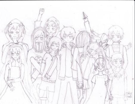 WIP: Kagerou Project by tabbyburger