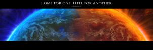 Home For One. Hell for Another by Darkness-Gfx