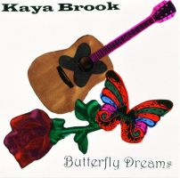 Kaya Brook CD cover 2 by KenshinKyo