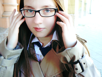Spectacled Cas by szancs