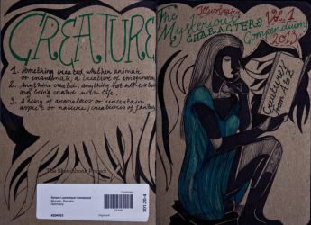 The Sketchbook Project 2013 - Cover by Nakilicious