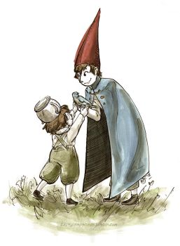 Over the Garden Wall - Inktober 2015 #1 by thetickinghearts