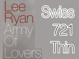 Lee Ryan Army Of Lovers font. by Maryah92