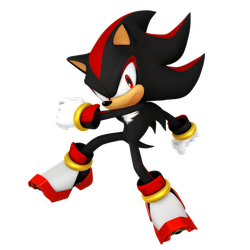 Shadow The Hedgehog (Legacy Render) by Nibroc-Rock