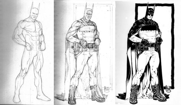 Batman- my reboot step by step by PauloSiqueira