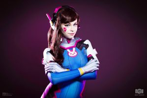 D.Va Cosplay - Overwatch by VikisCosplayology