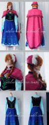 Frozen - Anna (adventure) Costume by oruntia