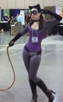 Catwoman at Contagion 2011 by LaMasqueDuMinet