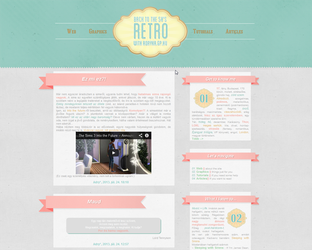 Number 35. layout - retro style by Sharah11