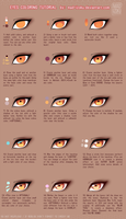 Eyes Coloring Tutorial Ver.2 by Mad-Izoku by Mad-Izoku