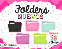 Folders Nuevos 340 watchers  By Annielove by Analaurasam