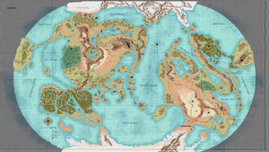 Map of Gaia, Take Two by Worldmonger