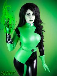 Kim Possible Shego Cosplay : Green Flame by Khainsaw