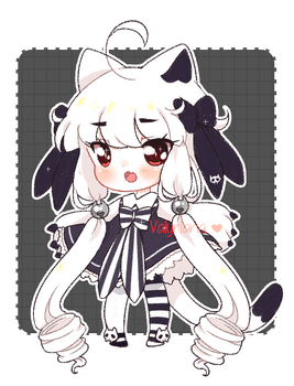[CLOSED] Kitty Skull Adopt by Valyriana