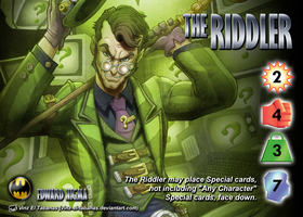 The Riddler (Edward Nigma) Character by overpower-3rd