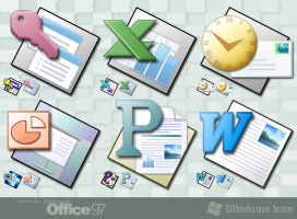 Office Fun Like '97 - Icons by ssx